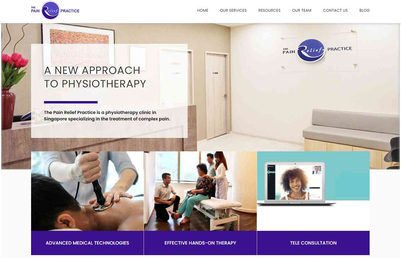 The pain practice Top Physiotherapy Clinics in Singapore