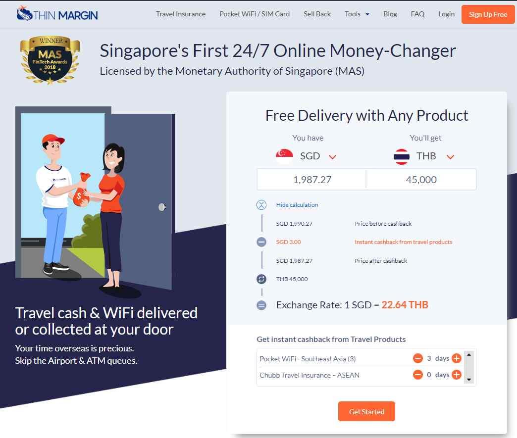Thin Margin Top Money Changers In Singapore