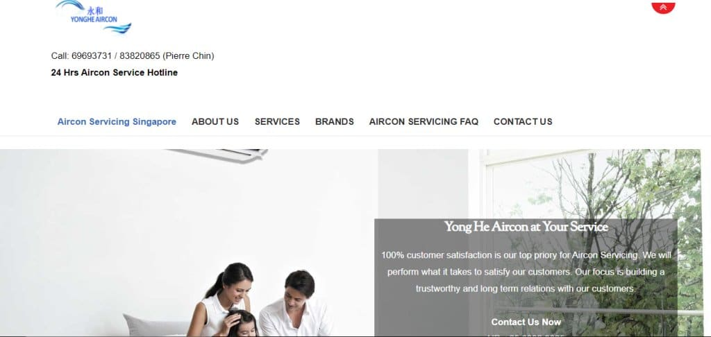 Yong He Aircon Top Air Conditioning Services In Singapore