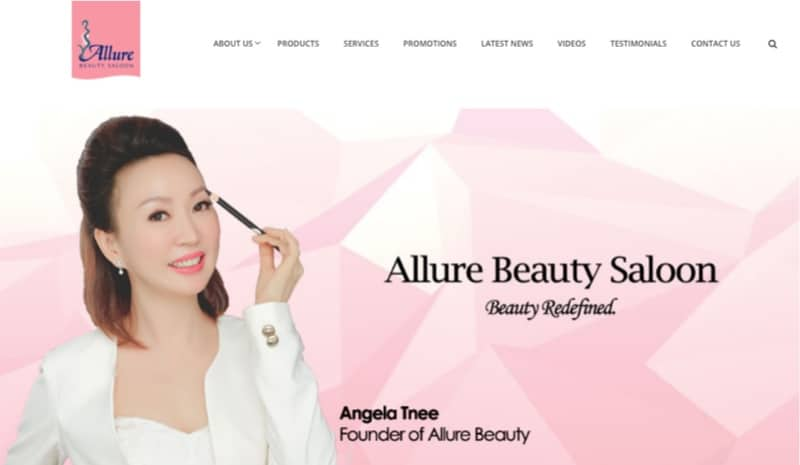 allure beauty digital marketing
