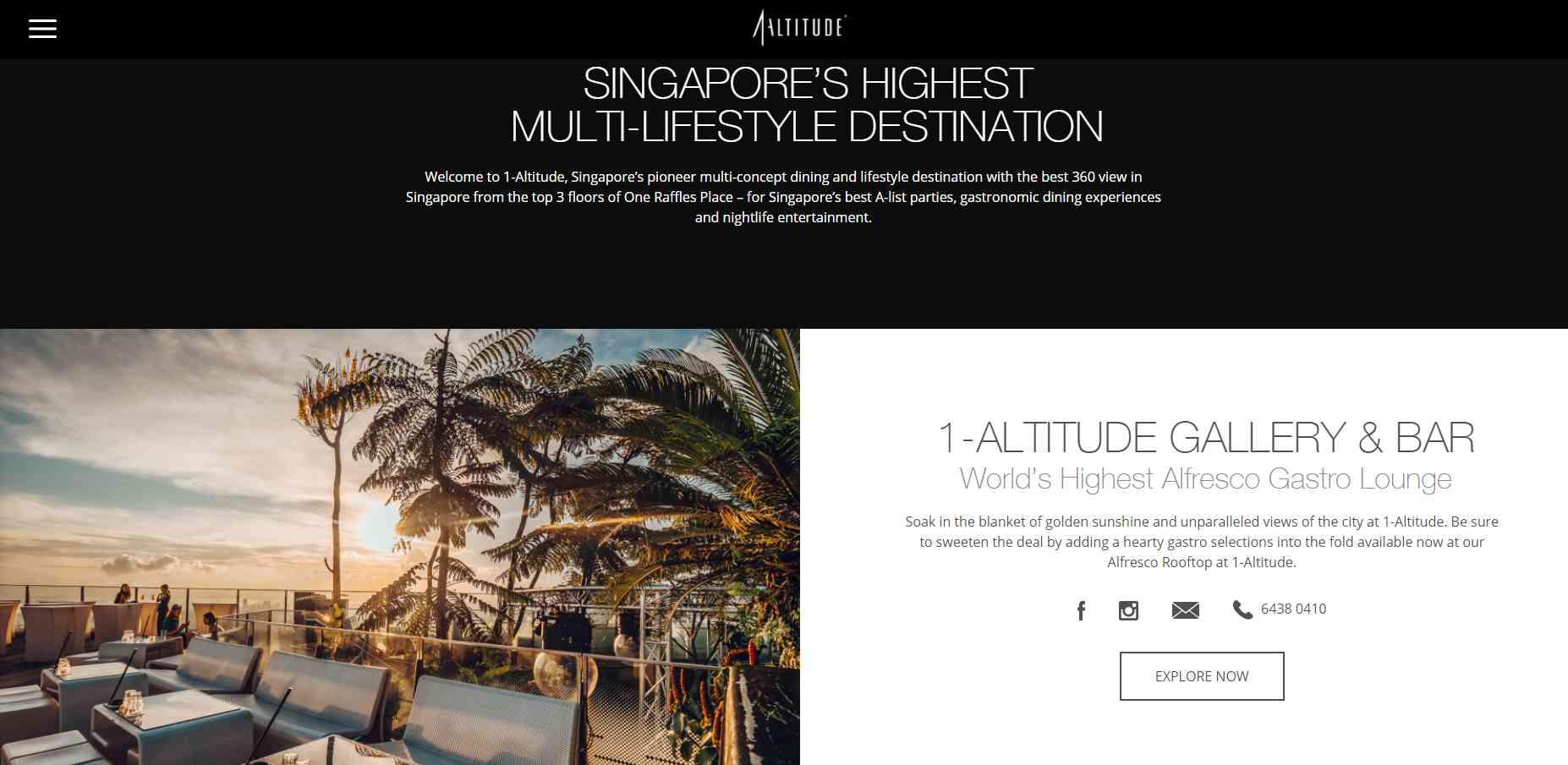 altitude Top Pubs In Singapore
