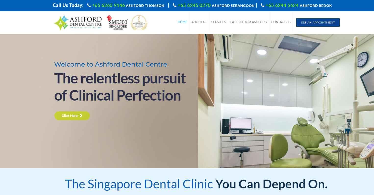 ashford Top Teeth Whitening In Singapore