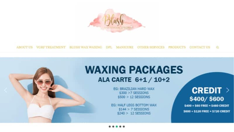 blush wax digital marketing