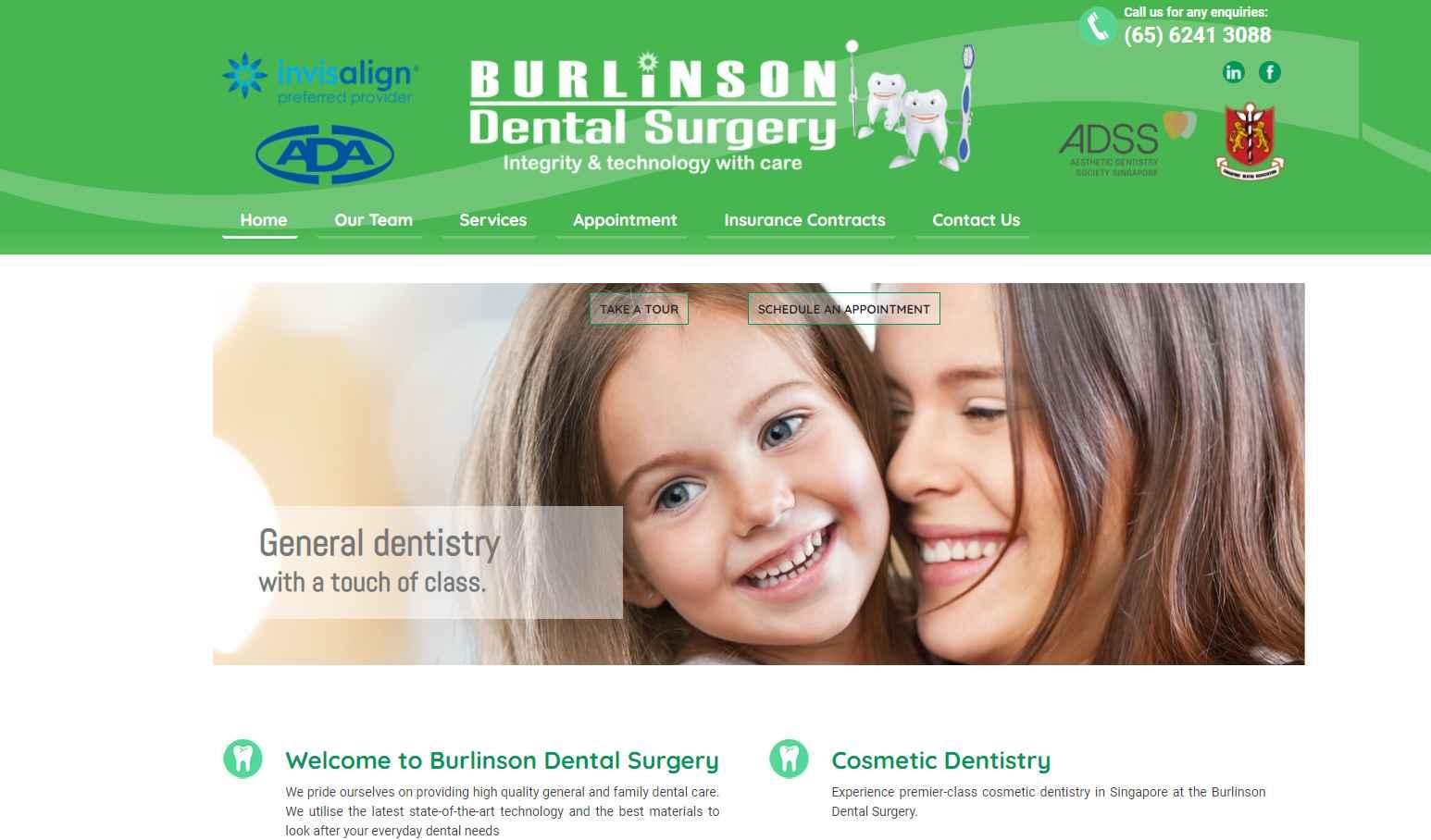burlinson Top Teeth Whitening In Singapore