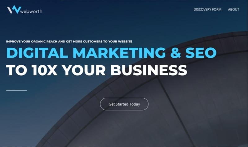 corporate seo services webworth