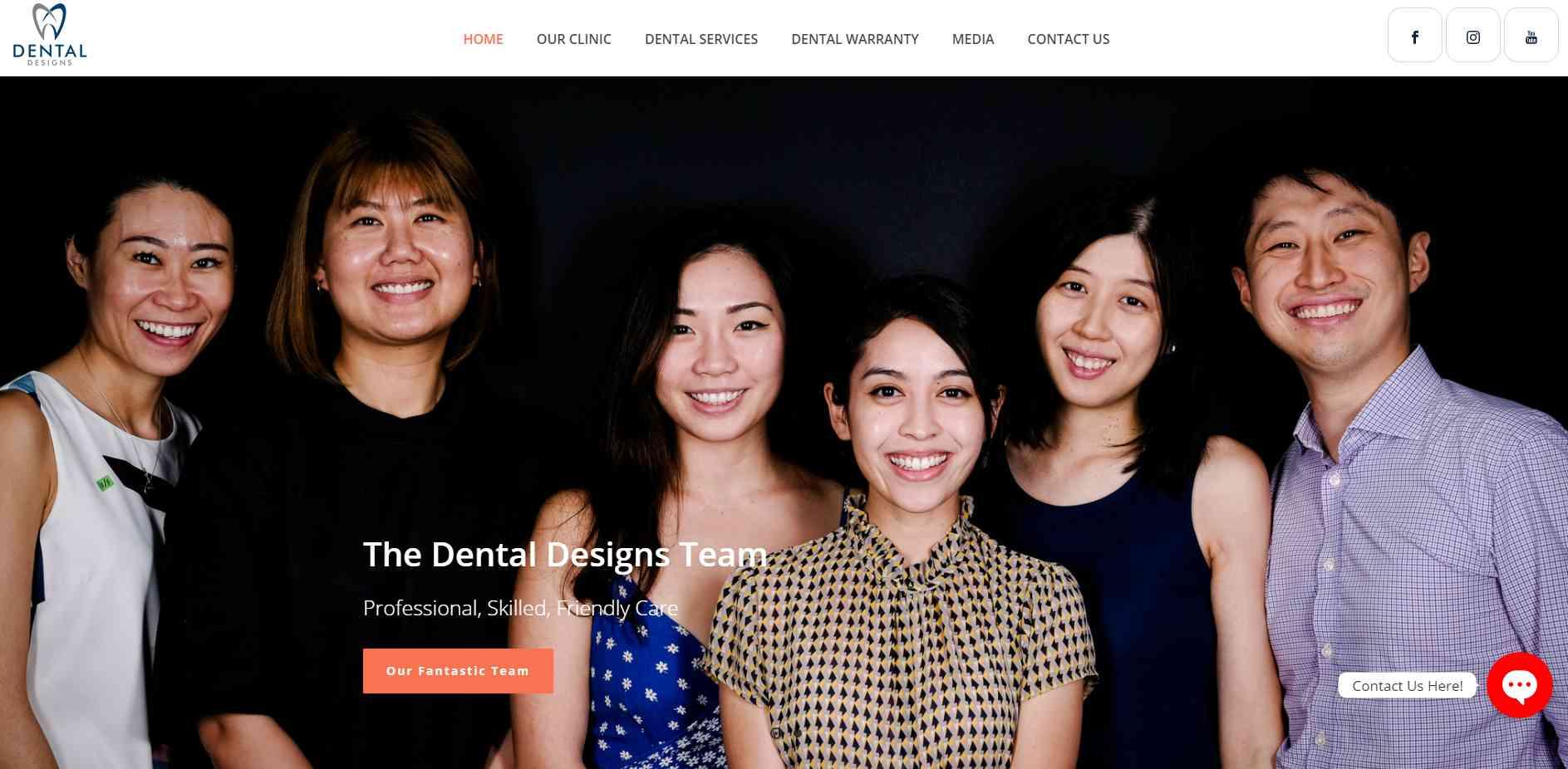 dental designs Top Teeth Whitening In Singapore