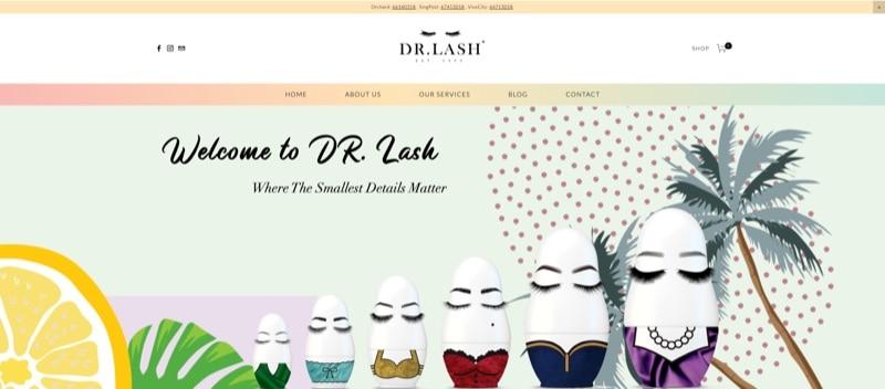 dr eyelash digital marketing