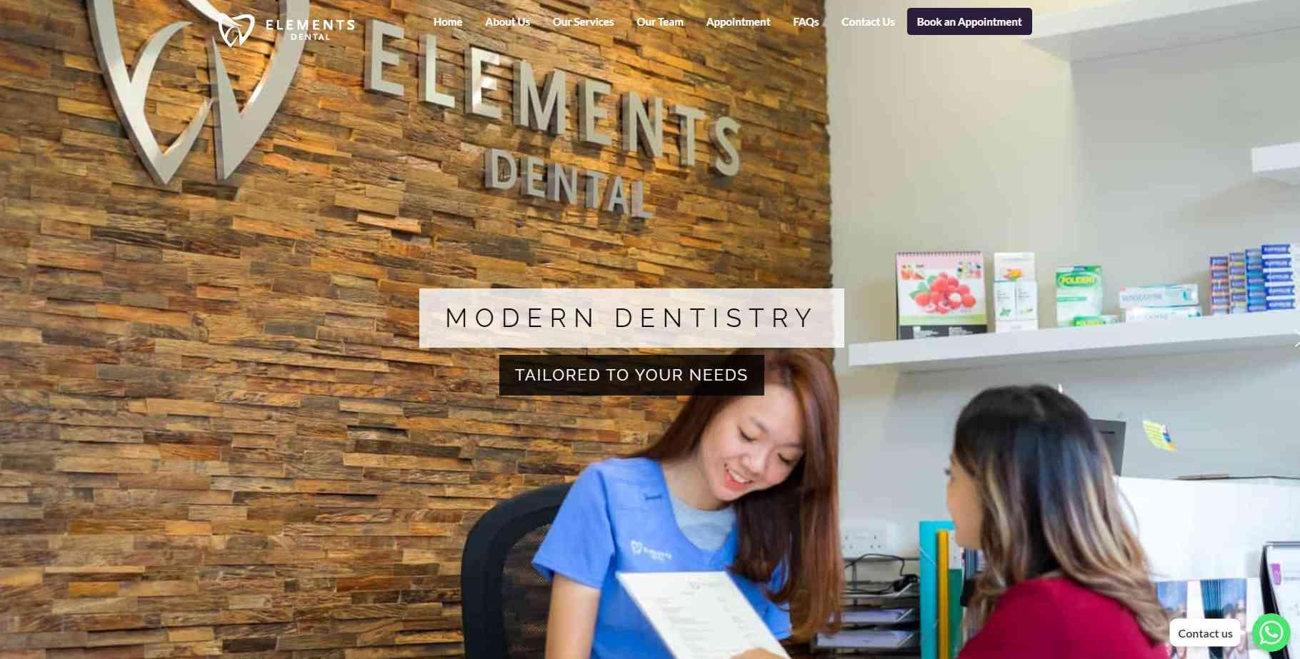 elemental Top Teeth Whitening In Singapore