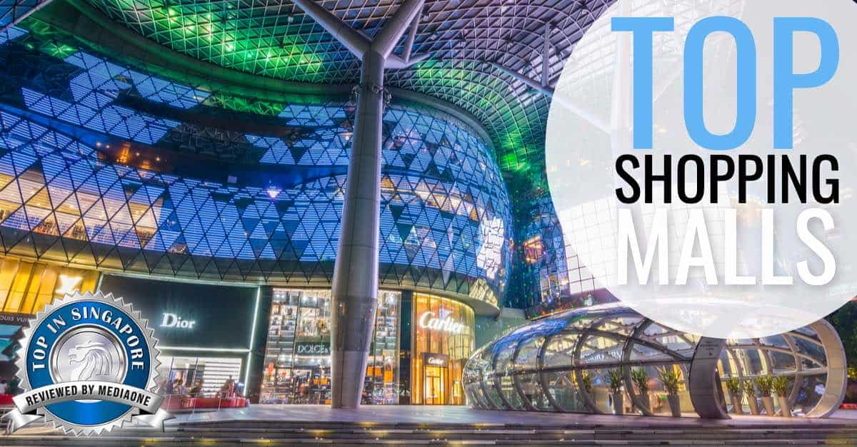 featured top shopping malls in Singapore