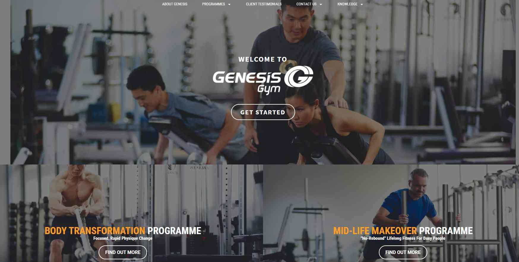genesis gym Top Gyms In Singapore