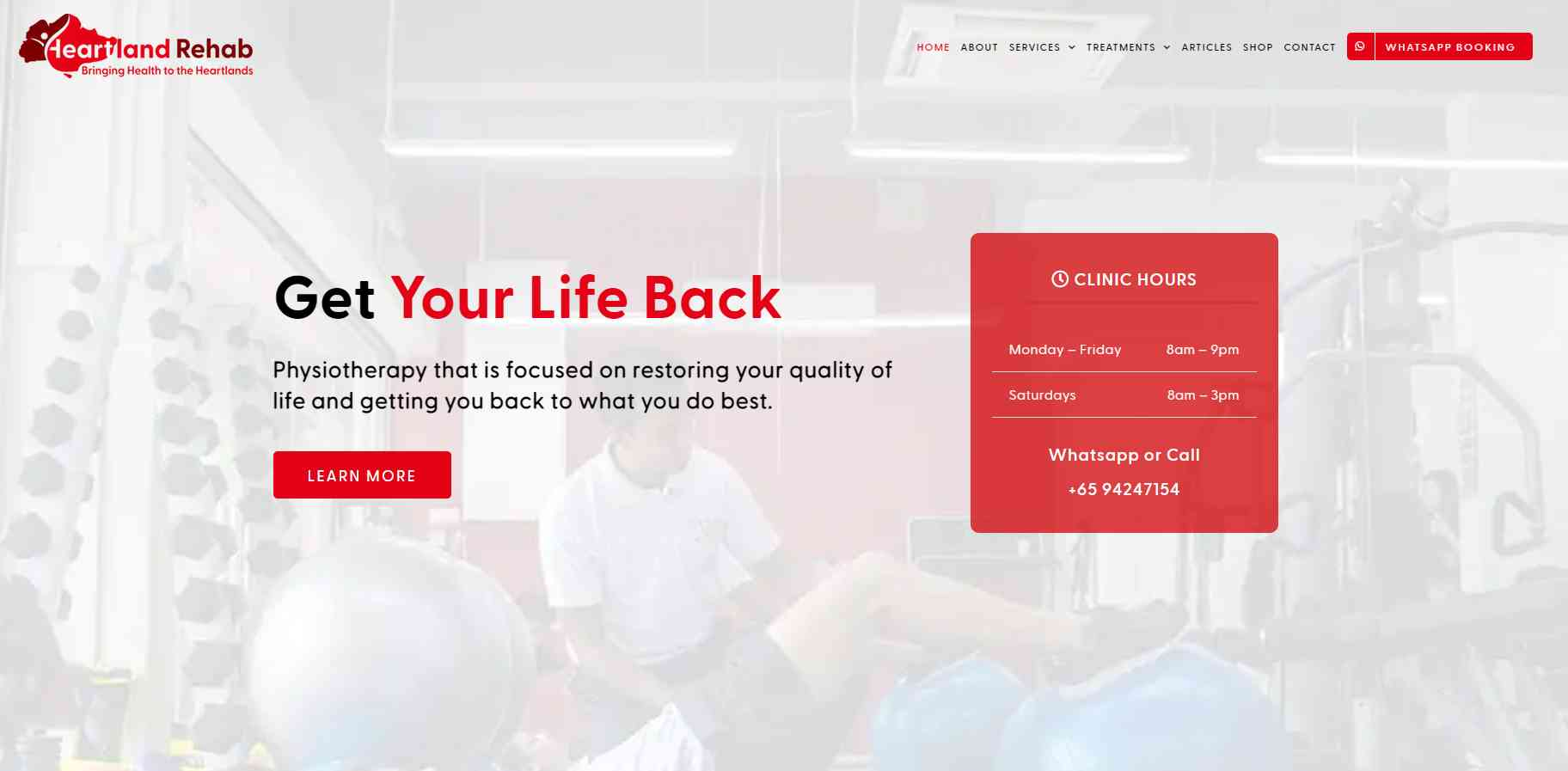 heartland rehab Top Physiotherapy Clinics in Singapore