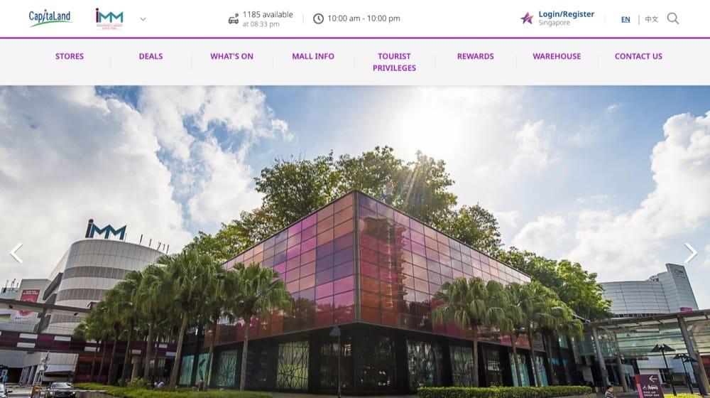 imm top malls singapore