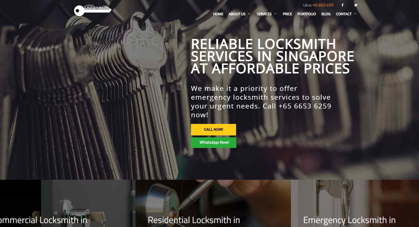 little locksmith Top Locksmiths In Singapore