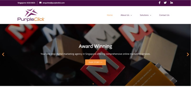 local seo singapore PurpleClick