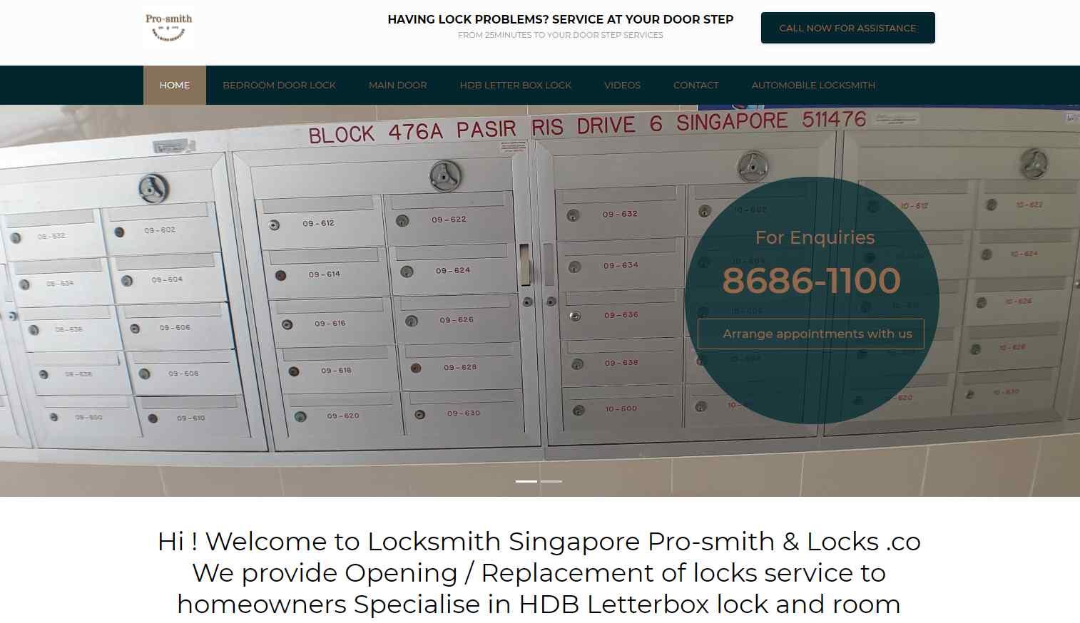 locksmit singapore services Top Locksmiths In Singapore