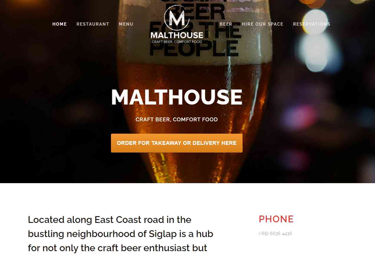 malthouse Top Pubs In Singapore