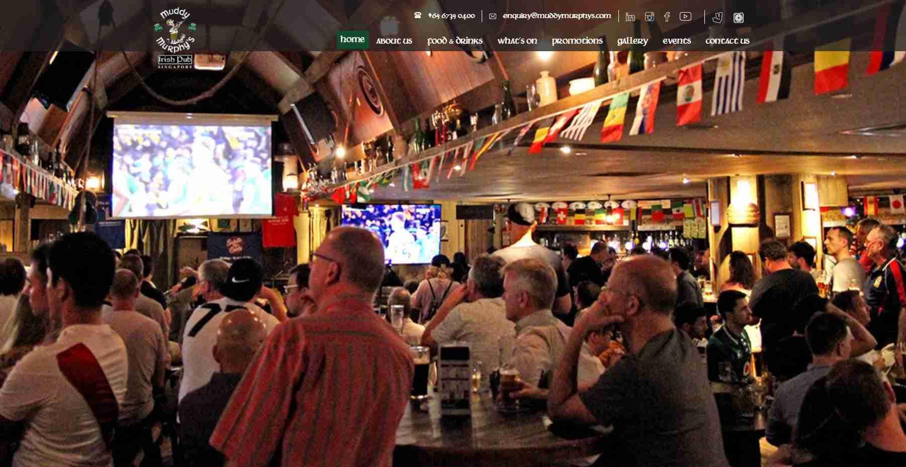 muddy murphys Top Pubs In Singapore