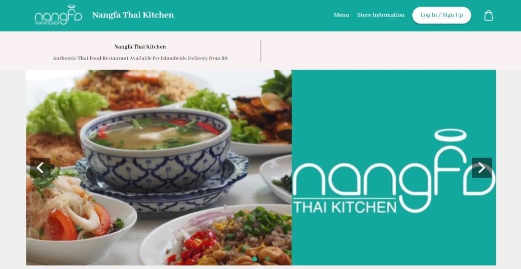 nangfa Top Thai Restaurants In Singapore