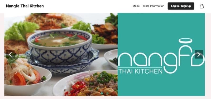 nangfa thai kitchen digital marketing
