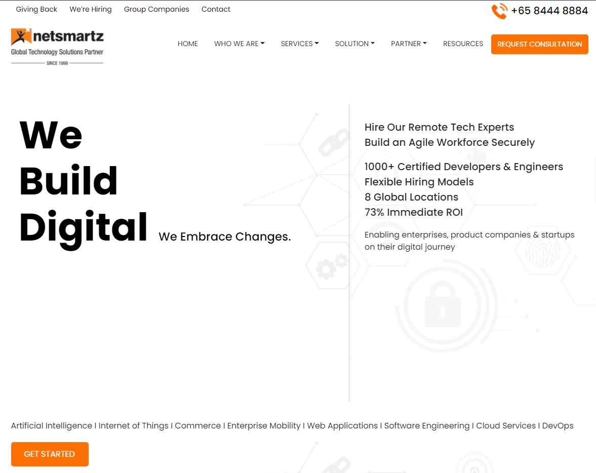 netsmartz Top 20 Software Developers in Singapore