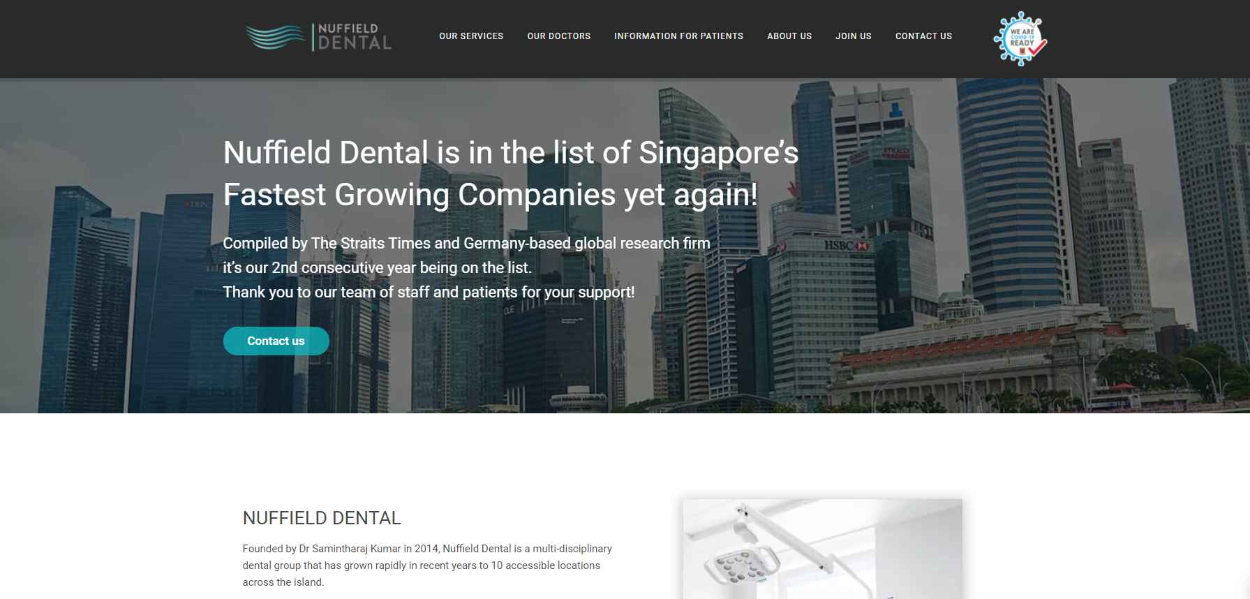 nuffield Top Teeth Whitening In Singapore
