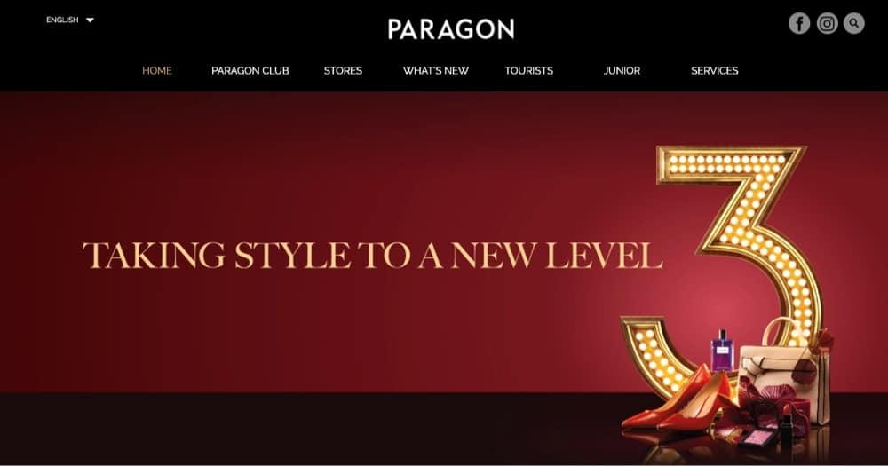 paragon top malls singapore