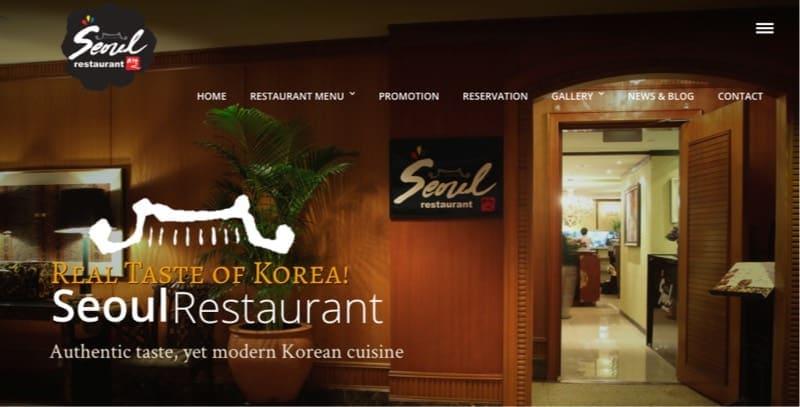 seoul restaurant digital marketing