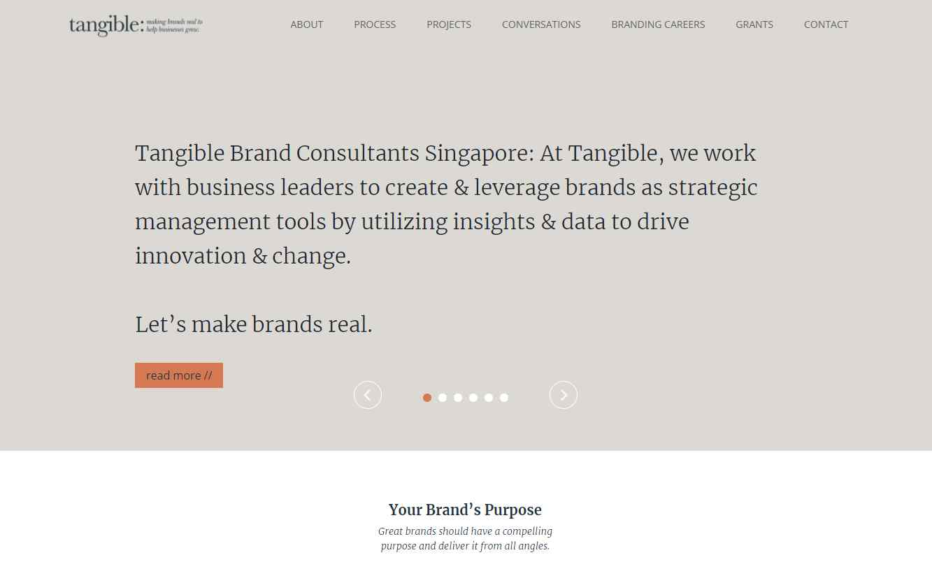 tangible Top 20 Branding Consultants in Singapore