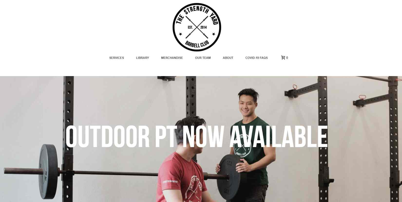 the strength yard Top Gyms In Singapore
