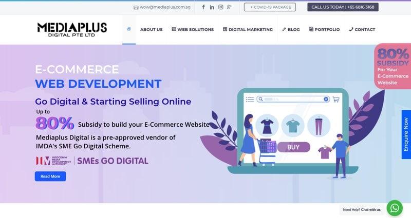 top seo companies singapore MediaPlus Digital