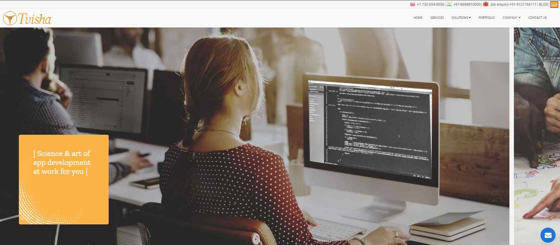 tvisha Top 20 Software Developers in Singapore