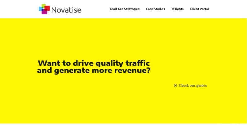 use seo marketing to drive traffic novatise
