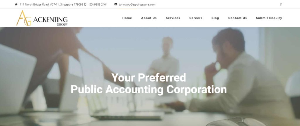 AG Top Bookkeeping Services in Singapore