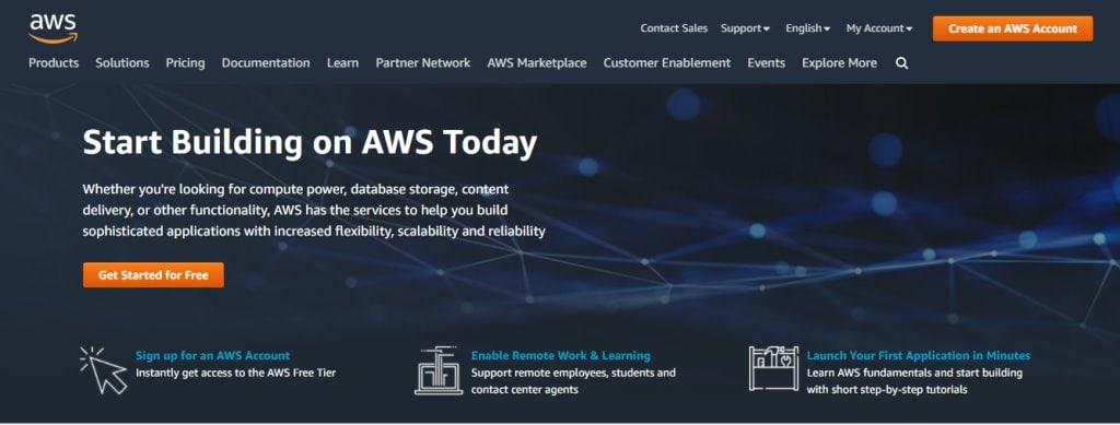 AWS Top Cloud Computing Companies in Singapore