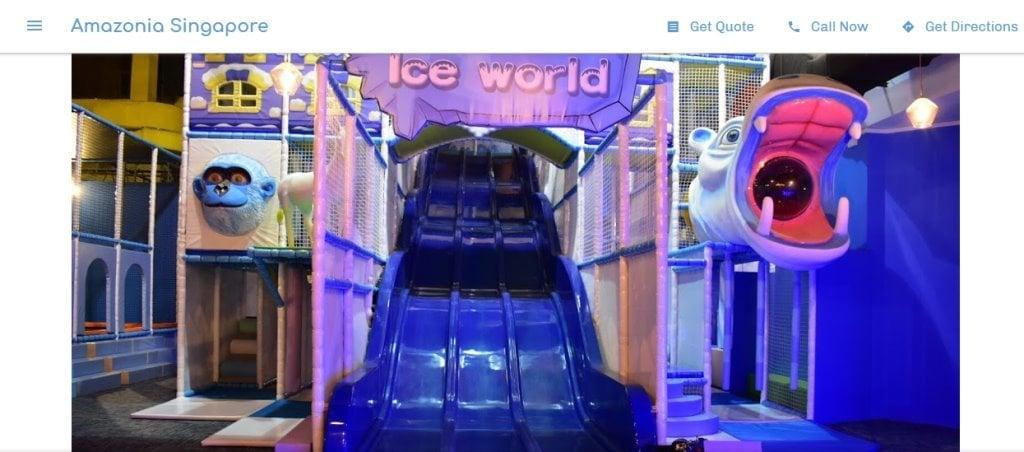 Amazonia Top Indoor Playgrounds In Singapore