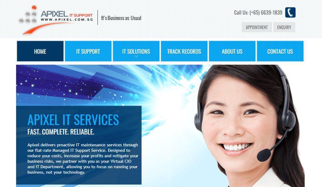 Apixel Top Cloud Computing Companies in Singapore