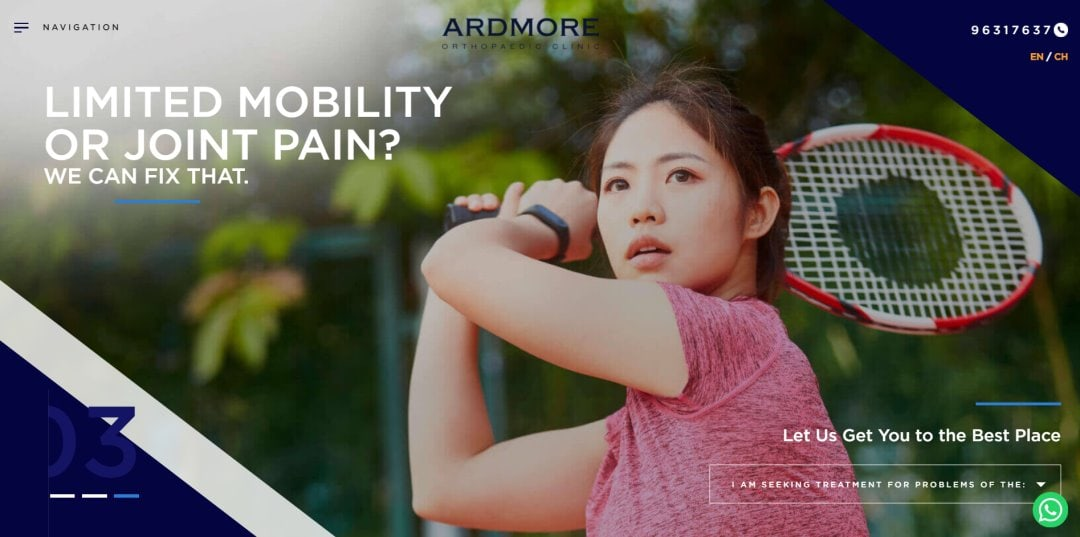 Ardmore Ortho Top Orthopaedic Clinics In Singapore