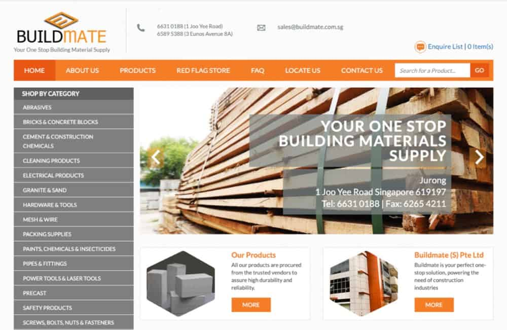 Build Mate hardware supplies singapore