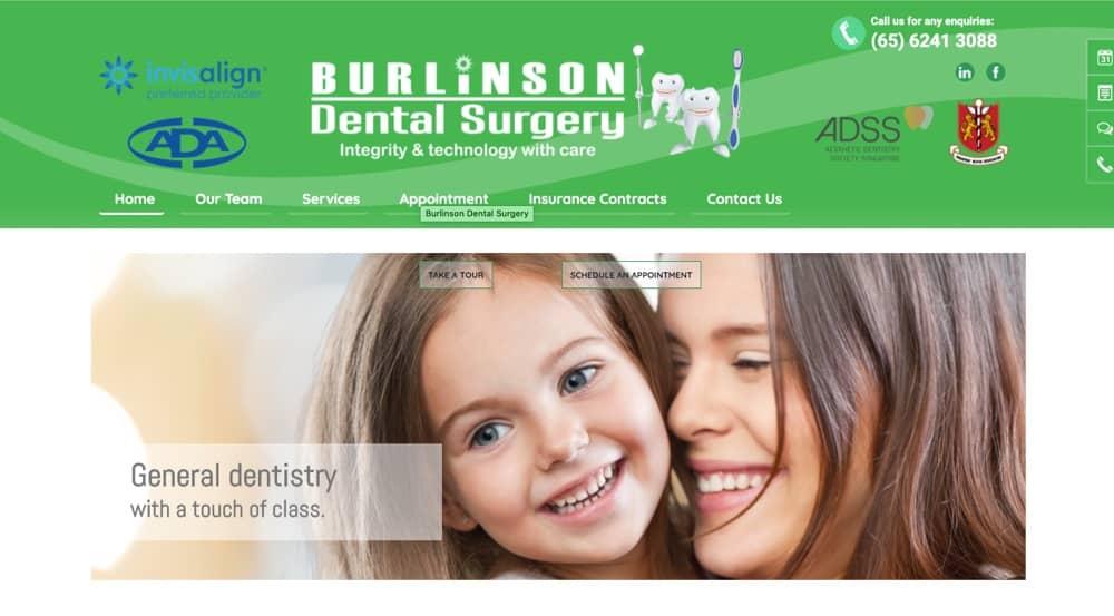 Burlinson Dental best in singapore