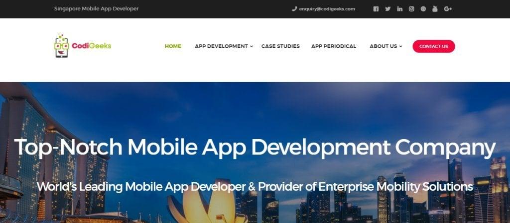 Codi geeks Top Blockchain Developers in Singapore