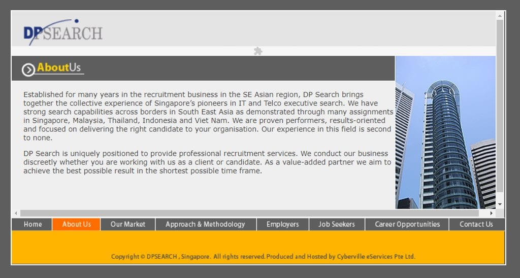 DP Search Top Recruitment Agencies in Singapore