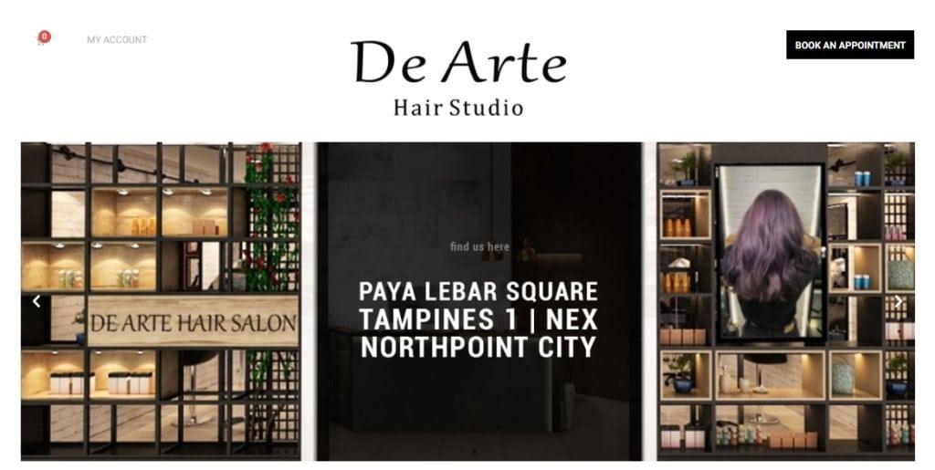 De Arte Top Hair Salons In Singapore