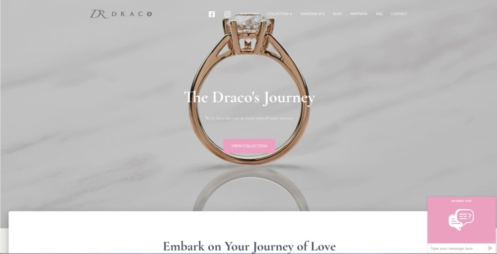 Draco Diamonds best engagement ring collection singapore