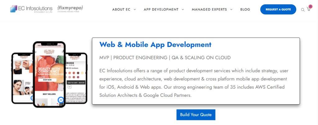 EC Infosolution Top Cloud Computing Companies in Singapore