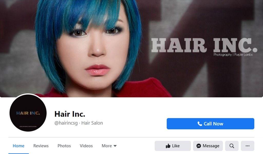 Hair Inc Top Hair Salons In Singapore
