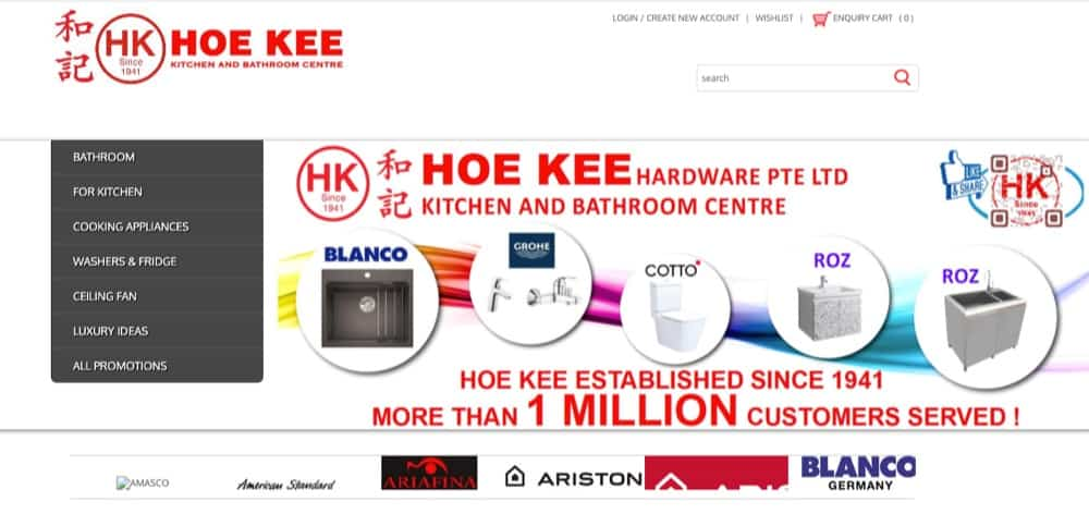 Hoe Kee Hardware top in singapore