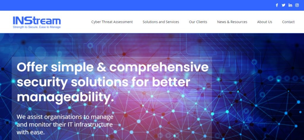 INStream Top Cyber Security Firms in Singapore