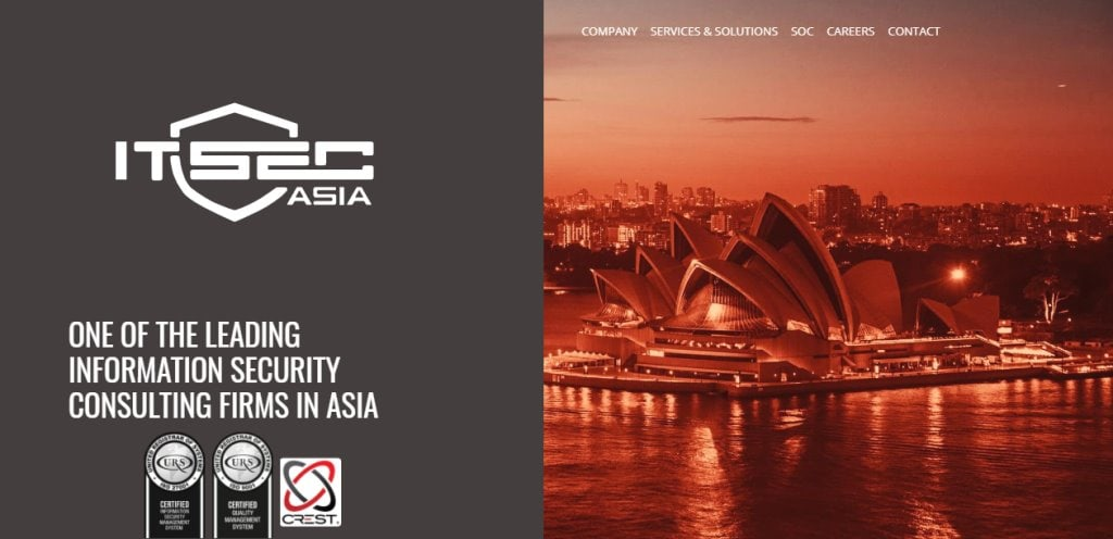 IT Sec Asia Top Cyber Security Firms in Singapore