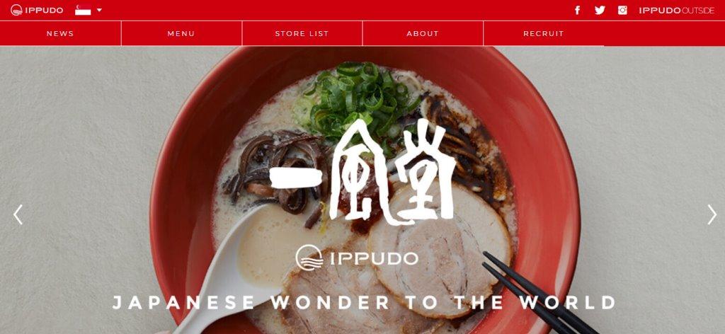 Ippudo Top Ramen Restaurants in Singapore