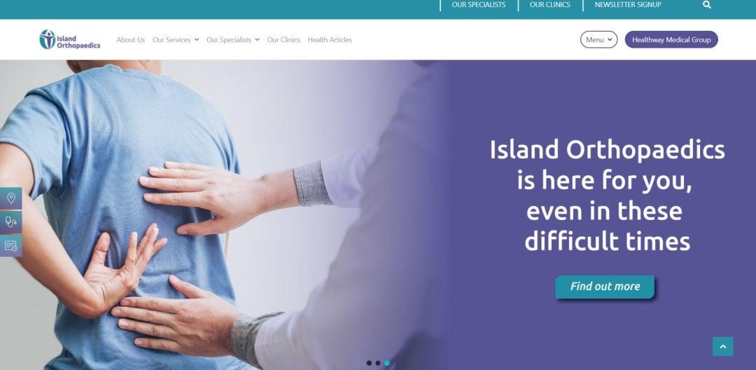 Island Ortho Top Orthopaedic Clinics In Singapore